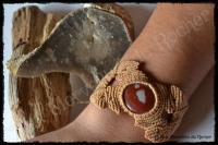 Bracelet jaspe picasso porte