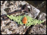 Bracelet volupte quartz peche