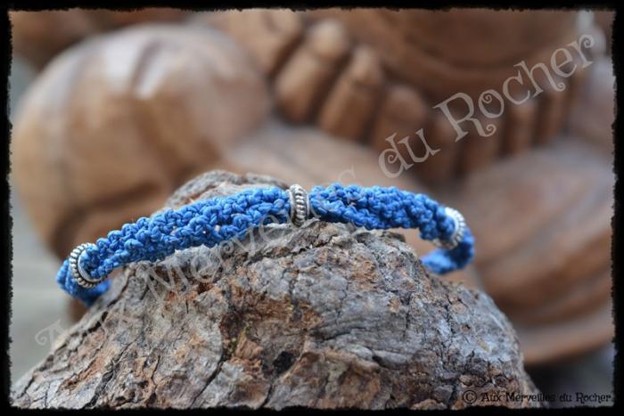 Bracelet Catur bleu