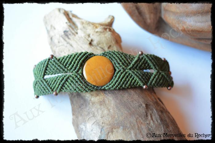 Bracelet k-ré limonite