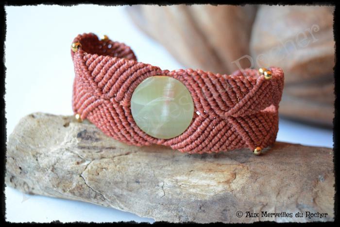 Bracelet k-ré onyx vert
