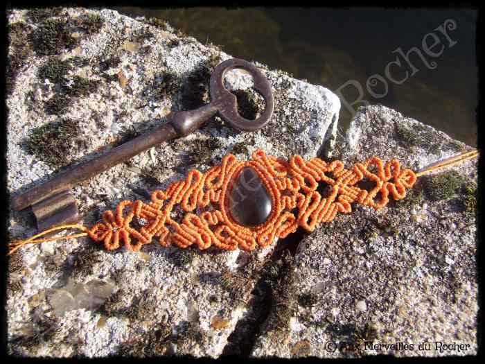 Bracelet volupté quartz fumé