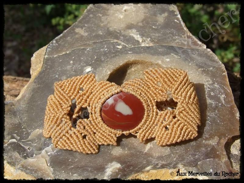 Bracelet jaspe picasso