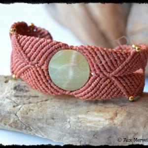 Bracelet k re onyx vert
