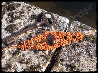 Bracelet Lampata Quartz fumé
