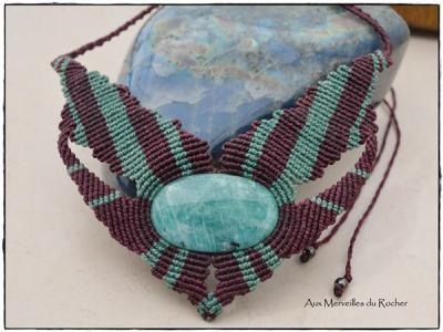 Collier amazonite mada
