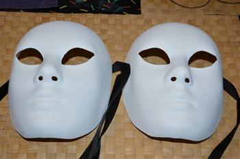 Masques vierges