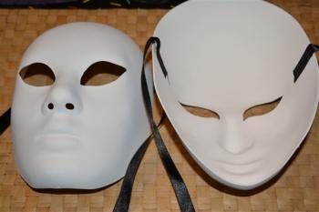 Masques vierges bis