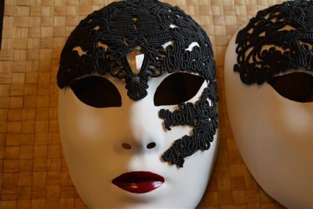 Masque Vénitien presque terminé